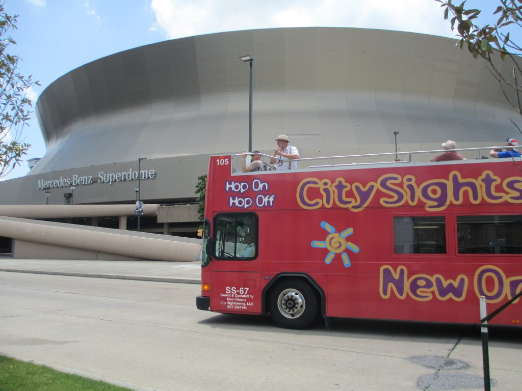 City Sight Seeing and the Superdome